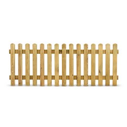 Vendita recinzioni e bordure in legno prezzi ed offerte for Staccionata in legno brico