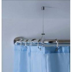Vendita tende doccia e vasca prezzi ed offerte brico io for Bastone reggitenda per doccia