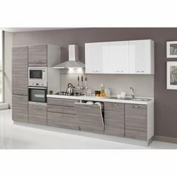 Vendita cucine prezzi ed offerte grancasa - Cucina lineare 3 metri senza frigo ...