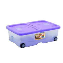 Vendita contenitori portaoggetti e multiuso prezzi ed - Contenitori sottoletto con ruote ...