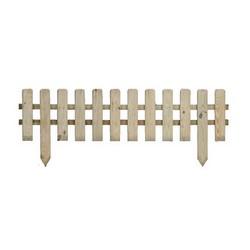 Vendita recinzioni e bordure in legno prezzi ed offerte for Recinzioni in legno obi