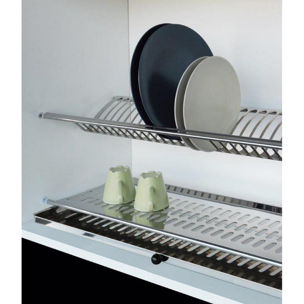 Scolapiatti in acciaio inox con vaschetta brico io for Vaschetta tartarughe prezzo