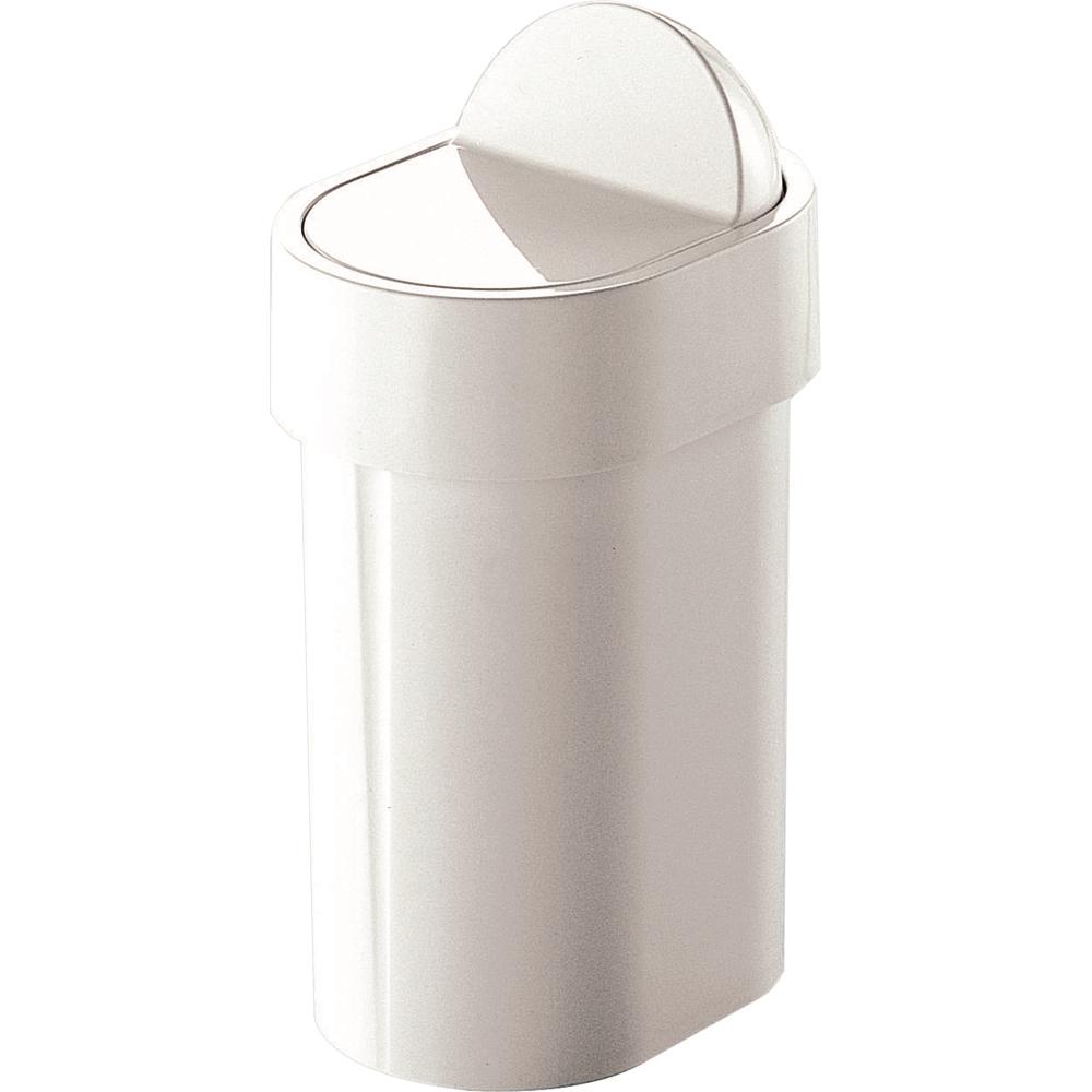 Pattumiera da bagno plastica gedy poubelle pattumiera bianca bricoio - Pattumiera da bagno ...