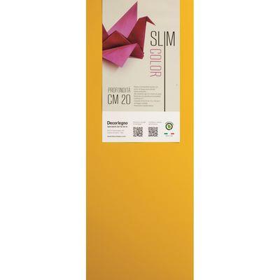 Mensola slim color gialla brico io for Brico io mensole