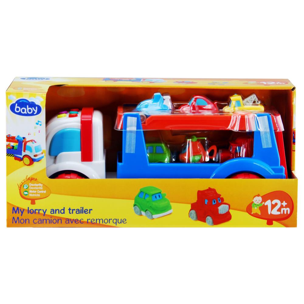 Auchan Tavoli Da Esterno.Baby Auchan Il Mio Camion Con Rimorchio Shop Online Su Auchan